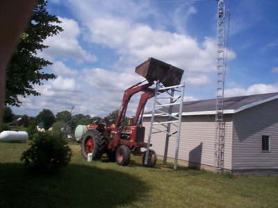 Tower Base Goes in Place
