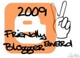 2009 Friendly Blogger