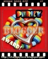 Perky Blogger Award
