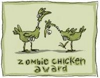 Zombie Chicken Awardd